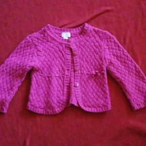 Childrens place pink sweater